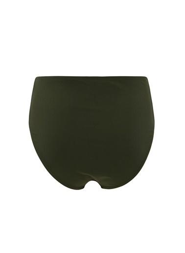 DeFacto Basic Yüksek Bel Bikini Altı Haki